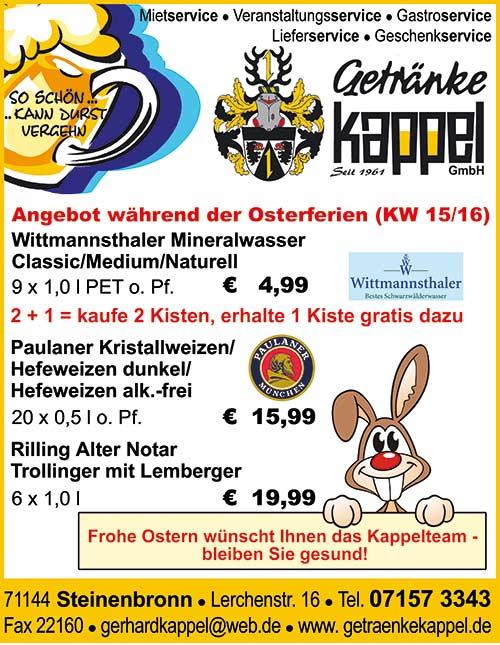 Osterferien - Angebot